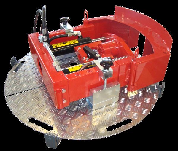 Machines de fonçage dirigé > Accessoires > Manhole platform (JACK)
