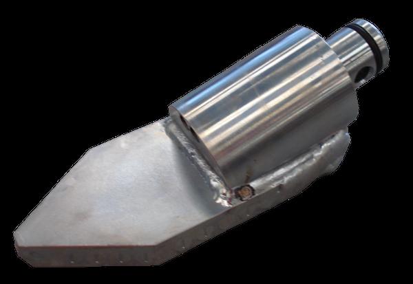 Foreuses horizontales dirigées (HDD) > Tetes de forage pour support de sonde ø 68 mm > Tête de forage type C/80 (ø68)