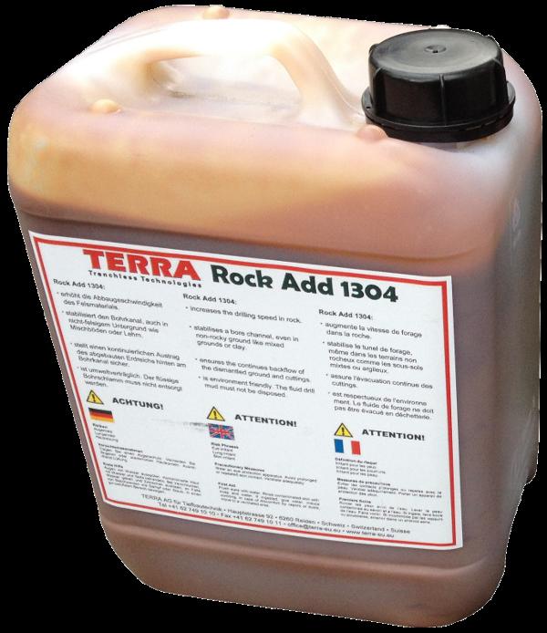 Foreuses horizontales dirigées (HDD) > TERRA-ROCK Additif > TERRA Rock Add 1304 (5ltr)