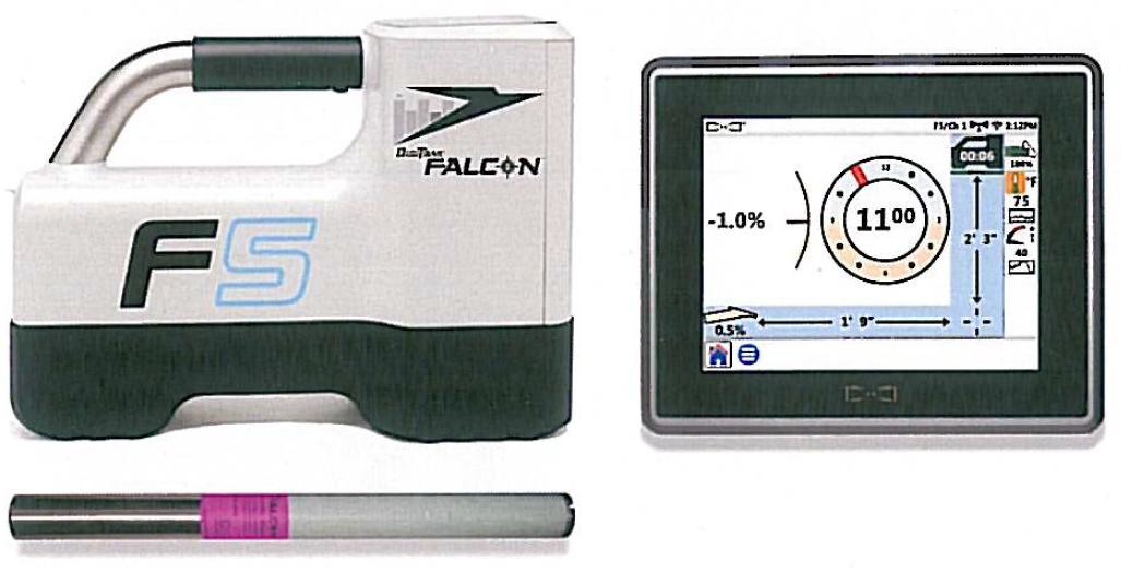 Foreuses horizontales dirigées (HDD) > Systéme de détéction > Falcon F5 + AF8