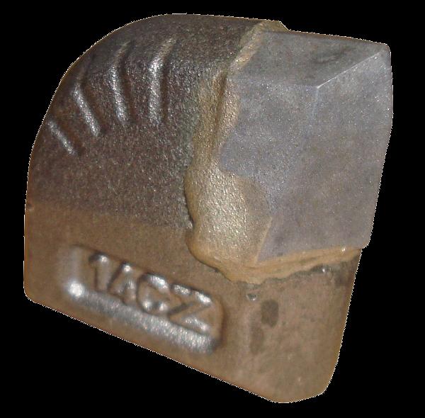 Foreuses horizontales dirigées (HDD) > TCI Teeth (Tungsten Carbide Insert) pour Aléseur > Dent en carbure 20x44