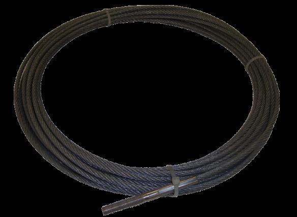Fusée pneumatique, Marteaux > Simultanément rentrage de tubes > Câble 25m (080)