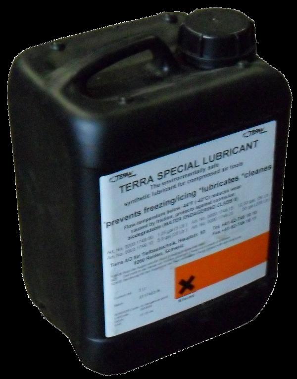 Fusée pneumatique, Marteaux > Graisseurs > TERRA lubricant 90x05