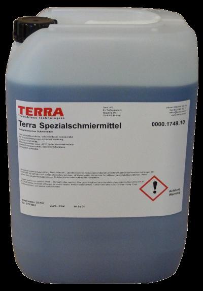 Fusée pneumatique, Marteaux > Graisseurs, heule > TERRA lubricant 25
