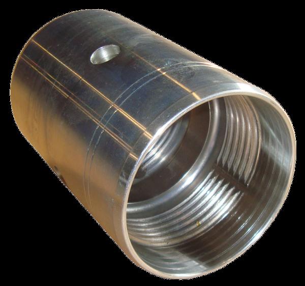 Fusée pneumatique, Marteaux > Adaptateur arrière > PE pipe connector 63/63