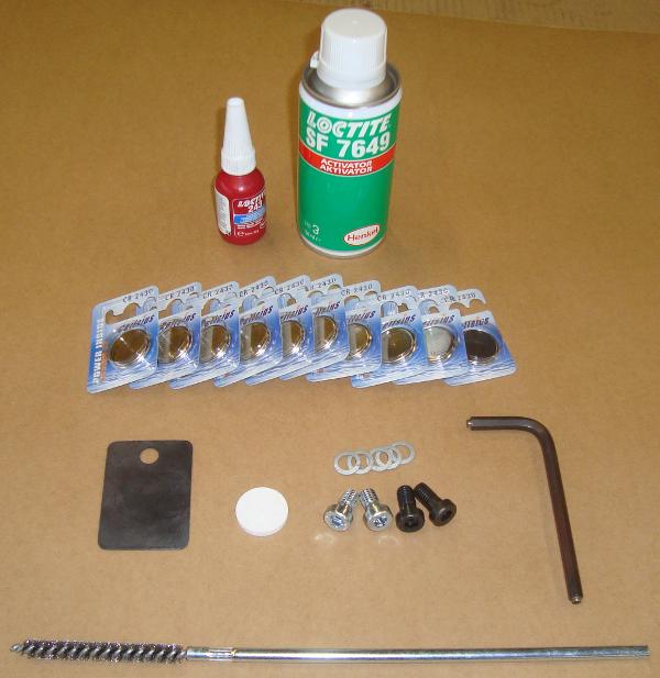 Fusée pneumatique, Marteaux > Accessoires pour détection > Set d'échange de batterie 135