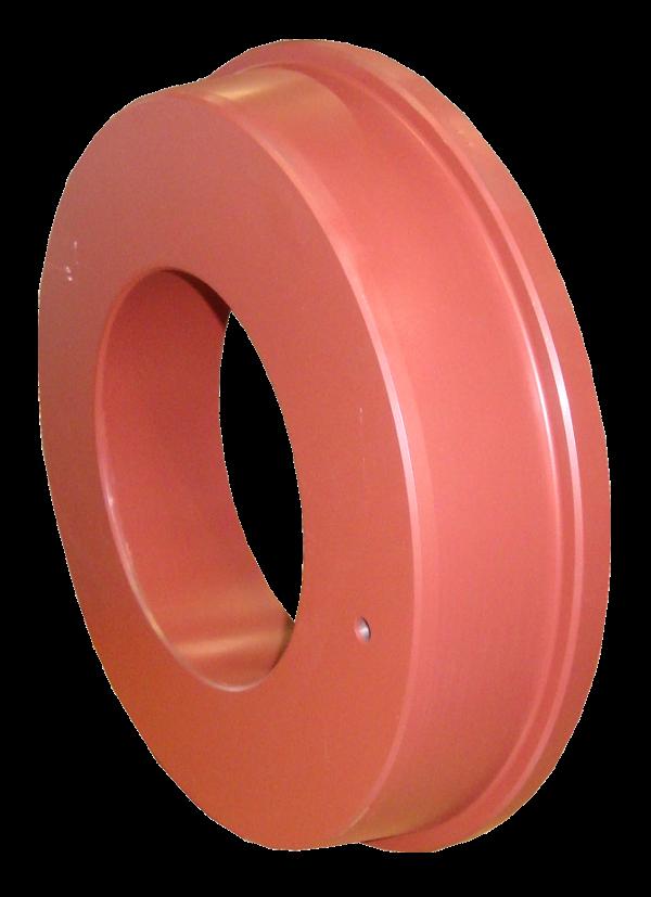 Pousse tube > Anneaux (à  ø 355 mm) > Anneau pousse-tube 220/353-363