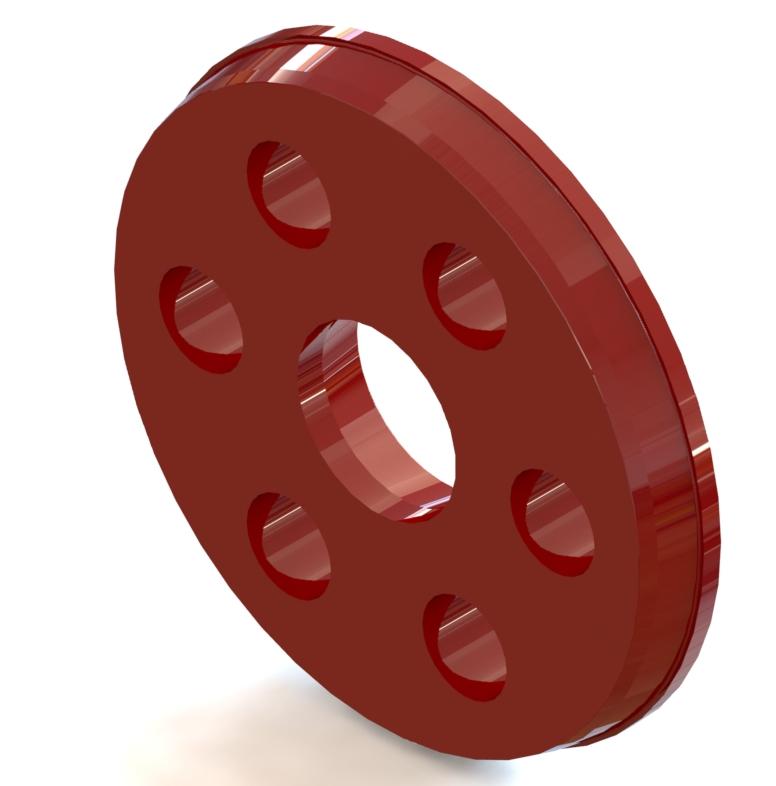Pousse tube > Plateaus pousse-tube > Ram plate 565/1565-1605