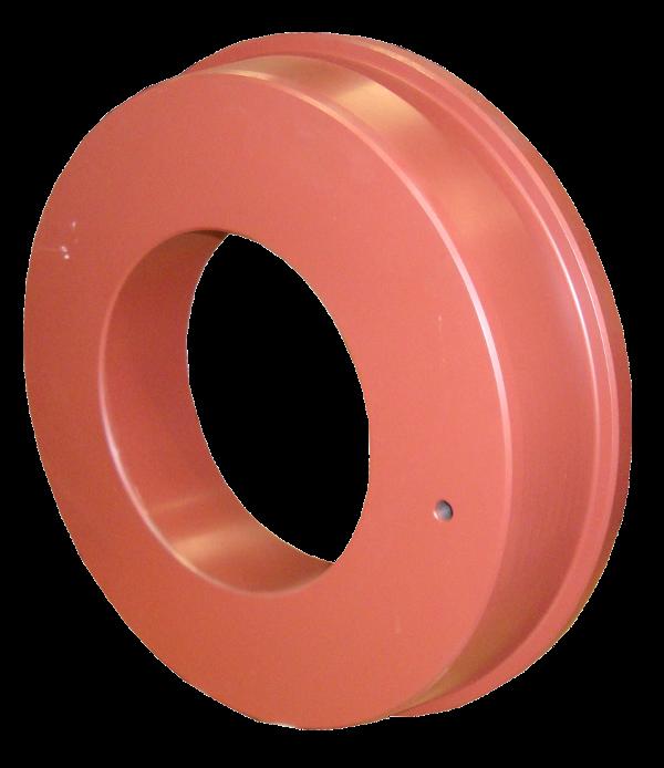 Pousse tube > Anneaux (à  ø 355 mm) > Anneau pousse-tube 155/333-343