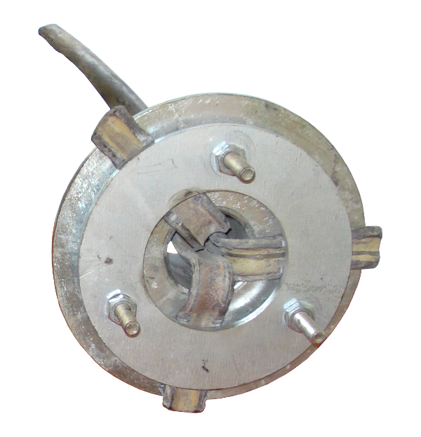 Eclateurs à cable > Tubes pour plomb > Flasque de blocage 3/4