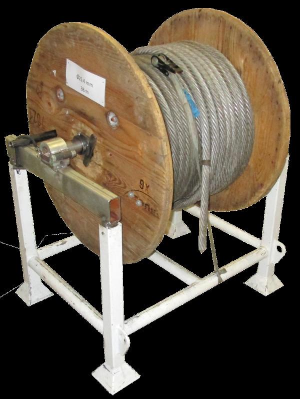Eclateurs à cable > Tambour à câble > Reel frame X 100 - X 400
