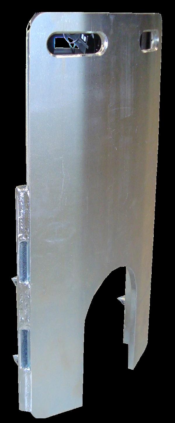 Eclateurs à cable > Plateau avant, Cadre avant > Curved front plate ø800